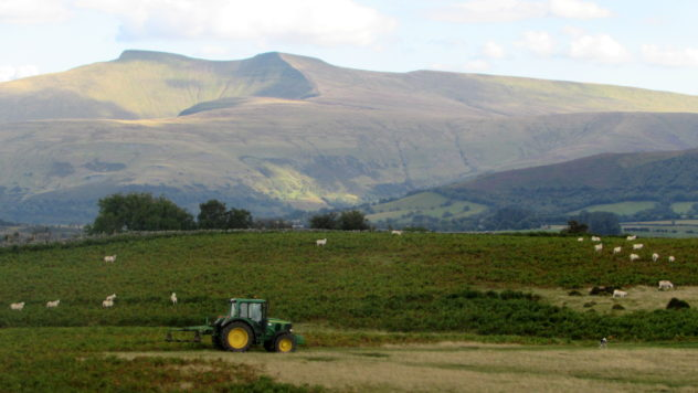 Pen y Fan and Corn Du, Brecon Beacons National Park