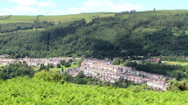 Llanbradach, Rhymney Valley, Caerphilly, South East Wales