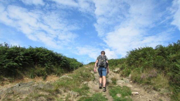 Mynydd Machen, Sirhowy Valley Walk, Rhiwderin, Caerphilly