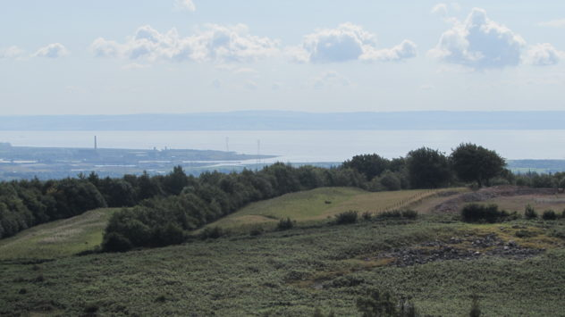 Bristol Channel, Newport, Mynydd Machen, Sirhowy Valley Walk