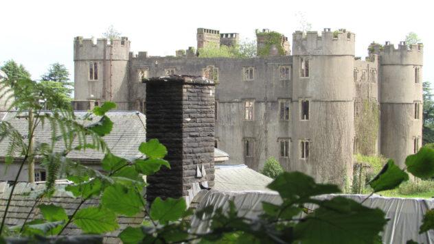 Ruperra Castle, first mock castle in Wales,