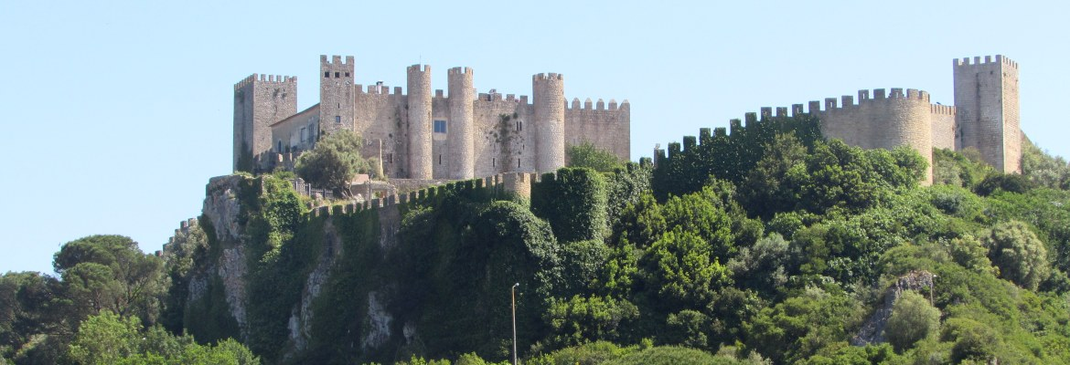 Silver Coast: the medieval Castle of Óbidos