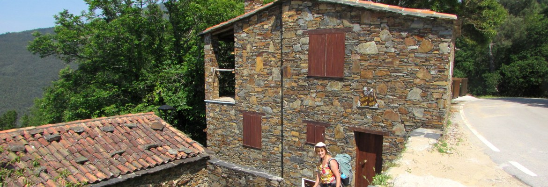 Central Portugal: the schist village of Casal Novo, Serra de Lousã