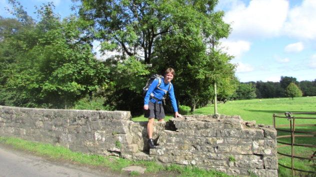 Old stone stile near Merthyr Mawr, Vale of Glamorgan
