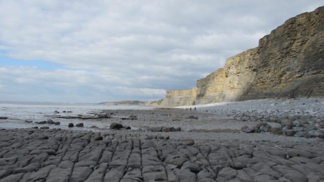 Near Dunraven, Glamorgan Heritage Coast, South Wales