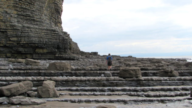 Glamorgan Heritage Coast, near Llantwit Major, Vale of Glamorgan, South Wales