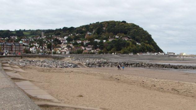 Minehead on the England Coast Path, Somerset