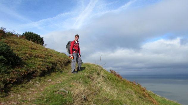South West Coast Path, near Porlock Vale, Somerset