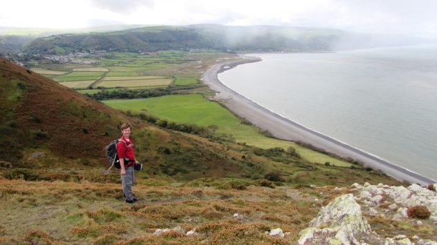 Porlock Bay, Somerset, England Coast Path