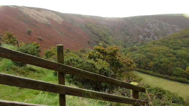 Exmoor National Park. Devon