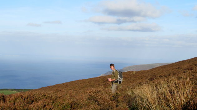 Coastal walking, Exmoor National Park