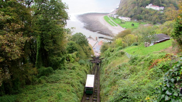 Lynton-Lynmouth Cliff Railway, Exmoor National Park, Devon