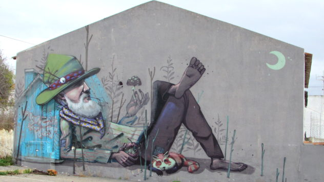 Street art, Lagos, Algarve