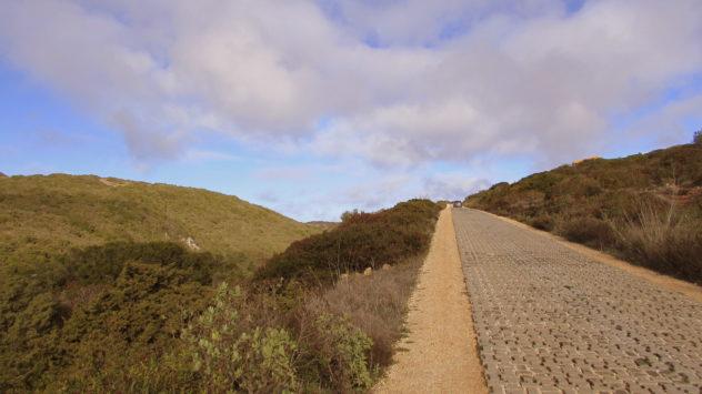 Road to Praia do Barranco, Raposeira, Western Algarve