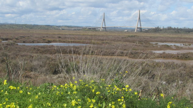 Guadiana International Bridge, Spain-Portugal border