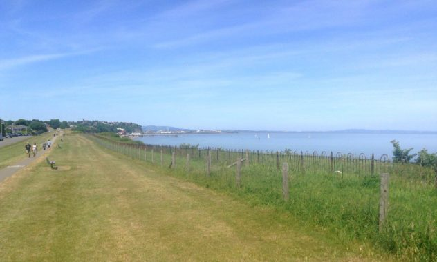 Cosmeston circular walk, Wales Coast Path