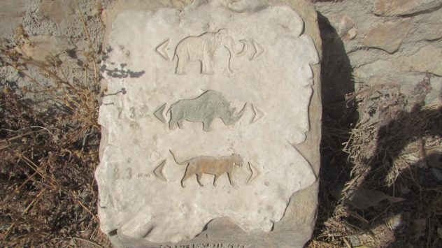 Prehistoric waymarks, Padul, Lecrin Valley, Granada