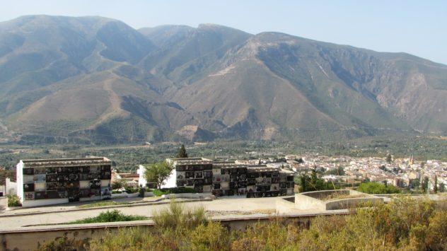 Órgiva cemetery, Alpujarras, Granada