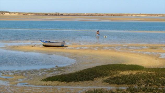 Low tide, Rio de Alvor, Western Algarve, Portugal