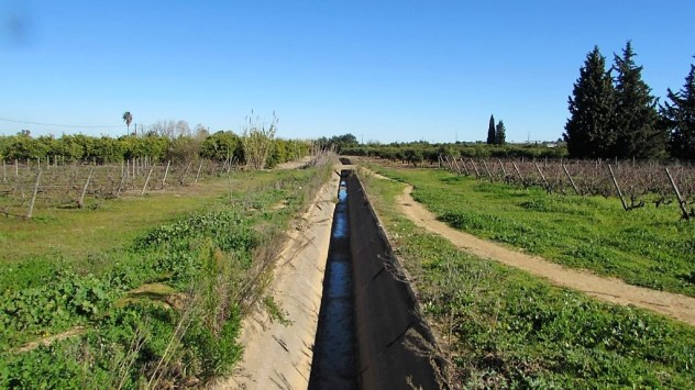 Levada near Lagoa, Algarve