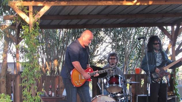 Jon Storey performing at Quinta da Figueirinha, Silves