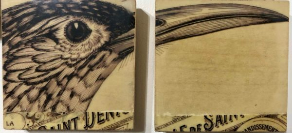 Beaked set of 2 scaled Tracy Casagrande Clancy Encaustic Mixed Media