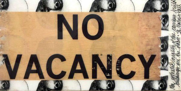 Come Again No Vacancy scaled Tracy Casagrande Clancy Encaustic Mixed Media