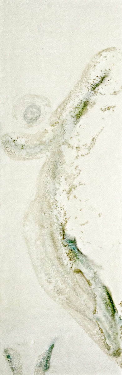 The Slow Descent scaled Tracy Casagrande Clancy Encaustic Mixed Media