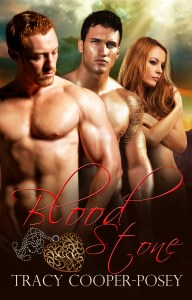 erotic paranormal urban fantasy romance, Blood Stone, by Tracy Cooper-Posey