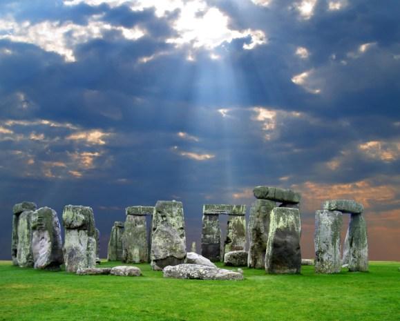The Stonehenge in UK