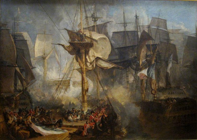 Trafalgar - William Turner