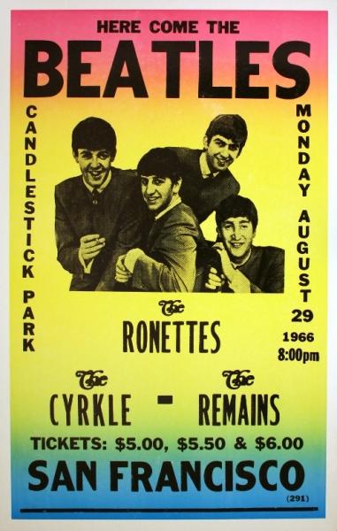 Beatles-Candlestick-poster