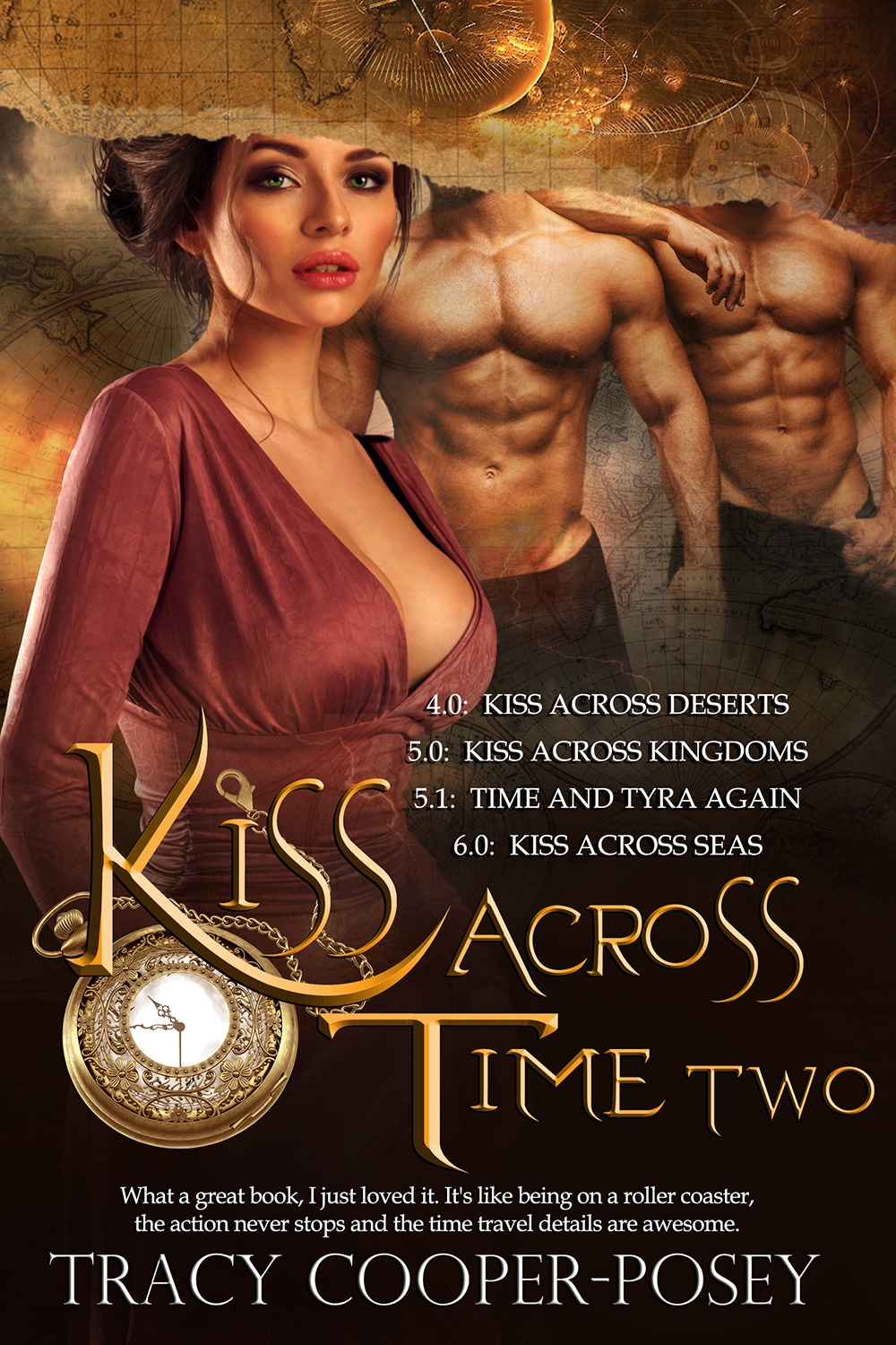 Kiss Across Time Box Two Cover