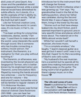 Article - Music becomes life's metaphor-2