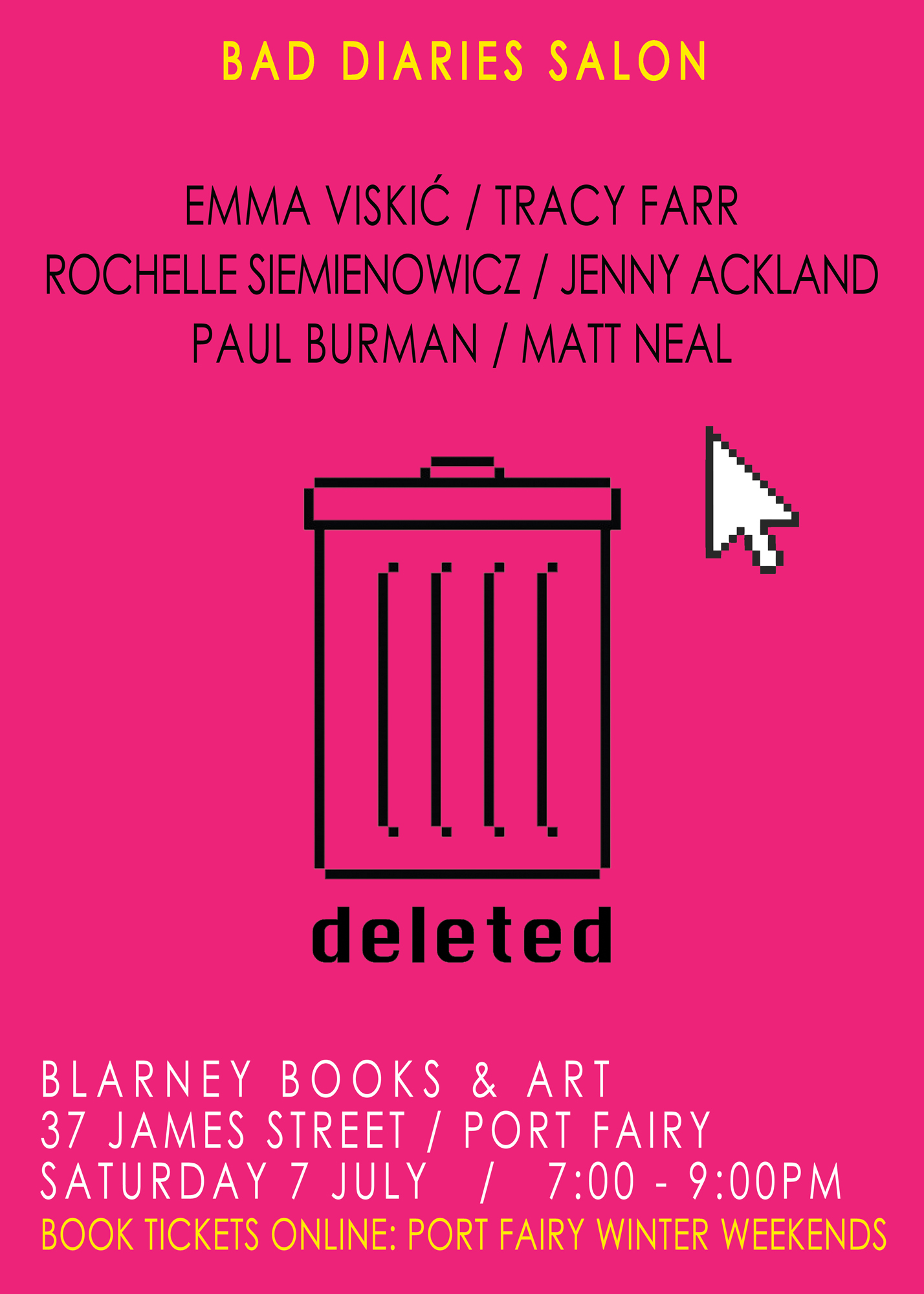 Bad Diaries Salon Port Fairy #DELETED