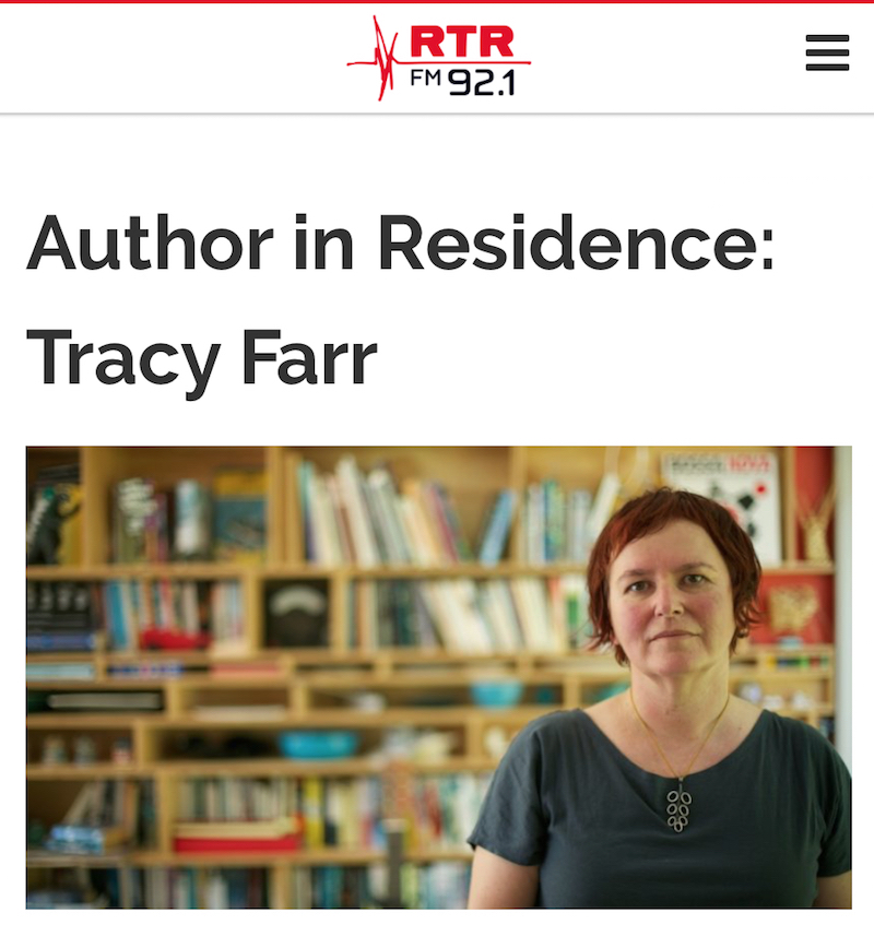 Tracy Farr on RTR