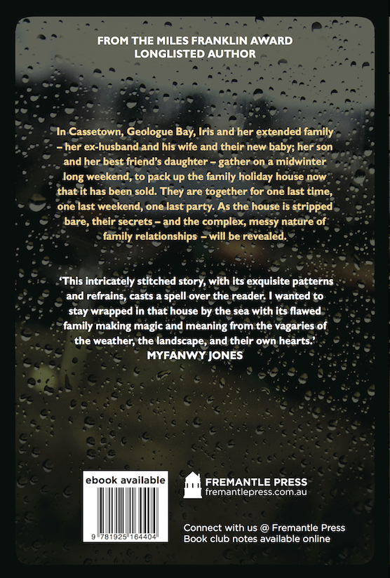The Hope Fault (back cover)