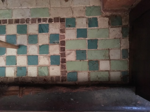 Tiles-in-fireplace