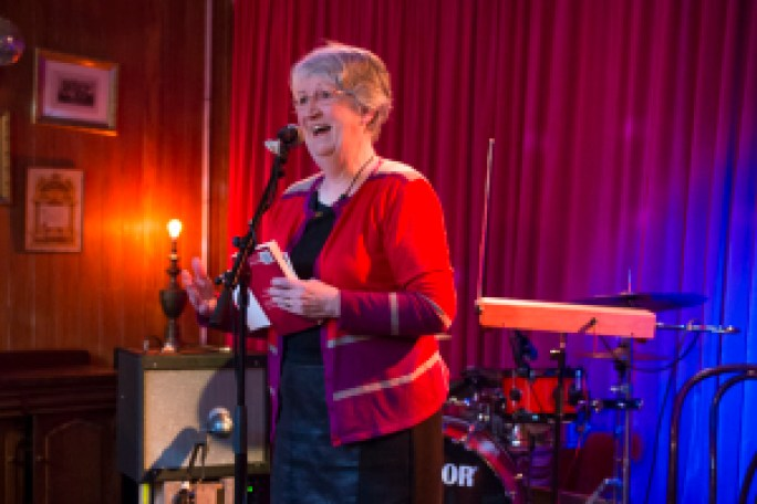 Fiona Kidman launches The Life and Loves of Lena Gaunt in Wellington, October 2013
