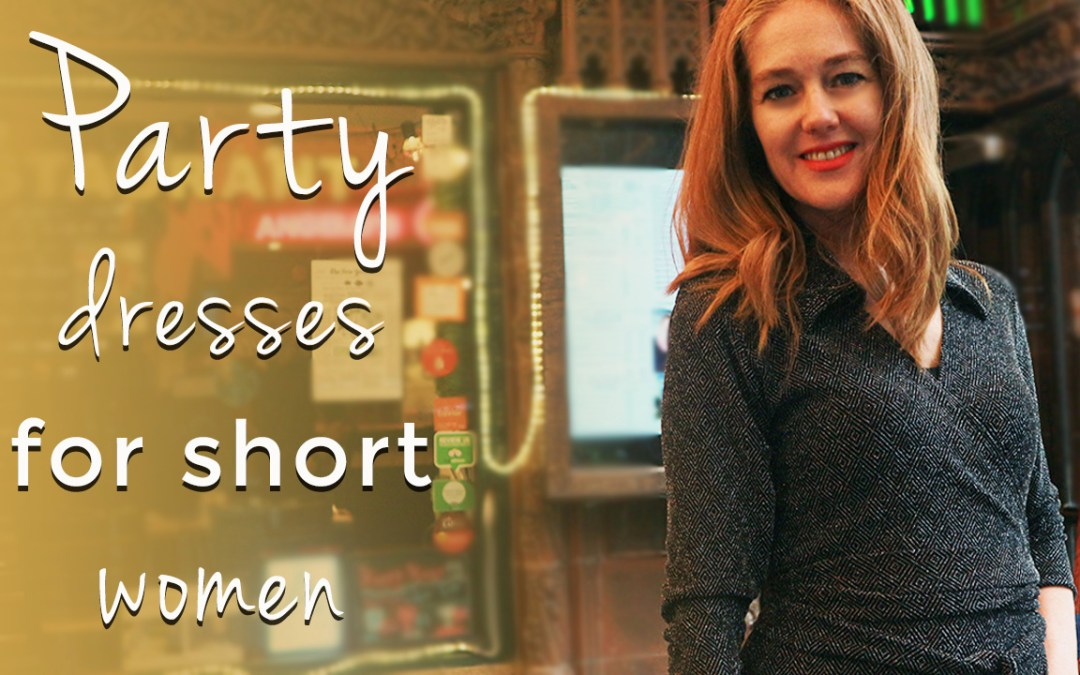 How to dress when you are short for women over 40 - party dresses for short women over 40