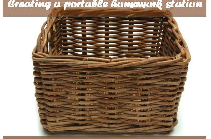 Creating a Portable Homework Station