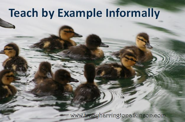 Teach by Example Informally