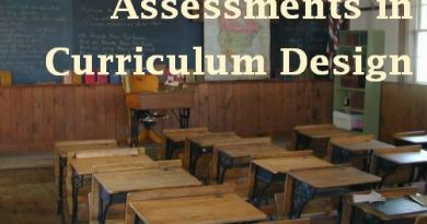 Assessments in Curriculum Design