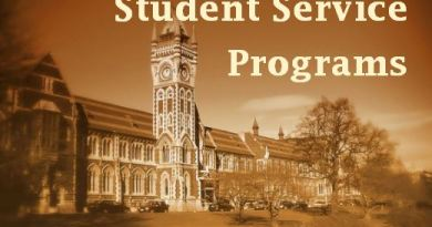 Student Service Programs