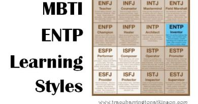 MBTI ENTP (Extraversion, Intuition, Thinking, Perceiving) Learning Styles