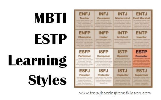 MBTI ESTP (Extraversion, Sensing, Thinking, Perceiving) Learning Styles