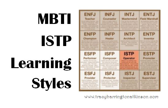 MBTI ISTP (Introversion, Sensing, Thinking, Perceiving) Learning Styles