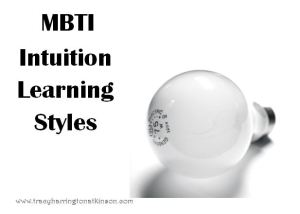 MBTI Intuition Learning Styles