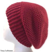 Cloche Beanie Hat Redwood $34