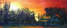 Wondrous Morning, Oil Paint on Canvas, 48x20 in, 2013